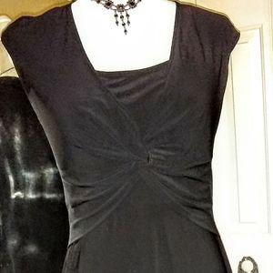 Designer Jones Wear Little Black Dress Sz10